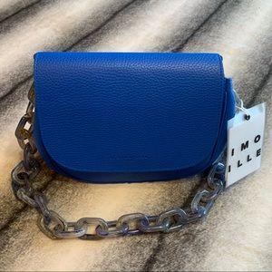 { Simon Miller } Bend Bag in Soaring Blue